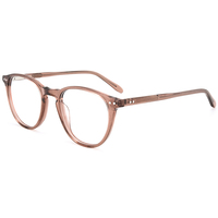 Yuchang Fancy Round Acetate Spectacle Eyewear Frames And Reading Computer Glasses With Low Price