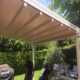 PVC Motorized electric awning for home