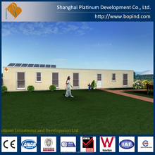 low cost villa modular home design prefab container home for family
