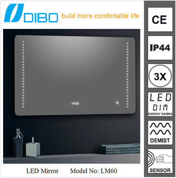 Touch Screen Dimmer Light Switch Led Light Mirror Touch Sensor ...