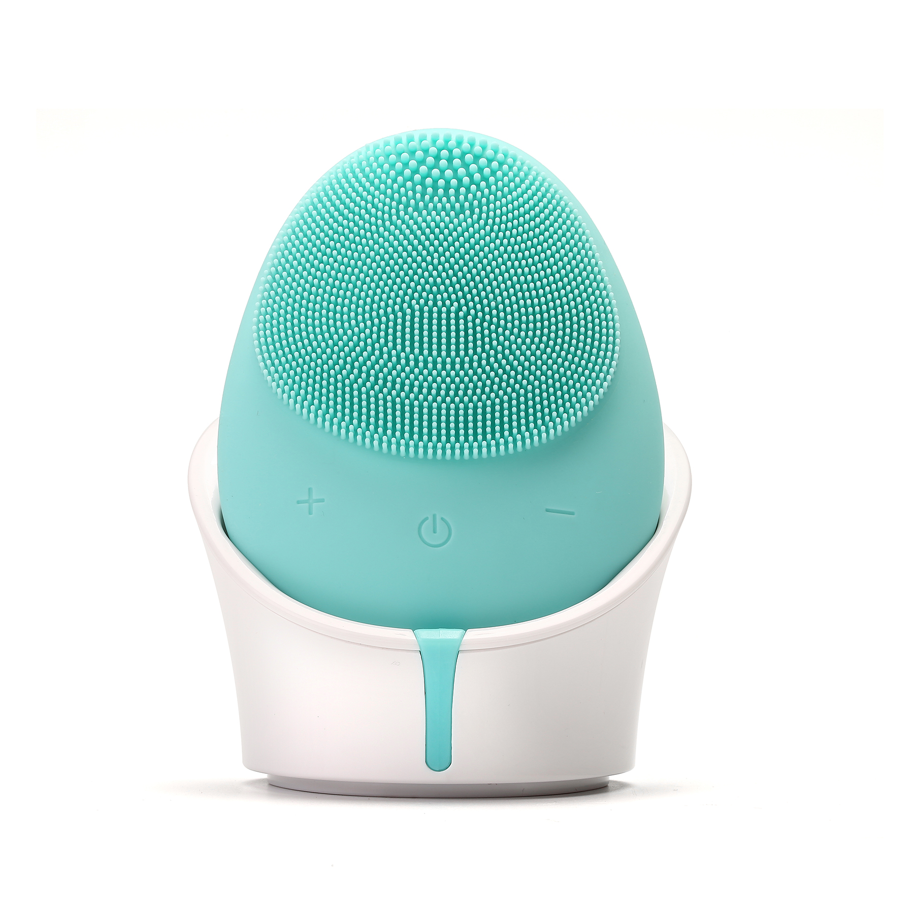 Homemade beauty acne face brush facial cleansing spin brush