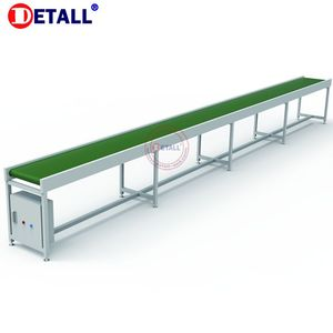 Detall automatic PVC conveyor belt machine with electric motor