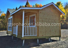 Small Holiday Wooden House/shop/restaurant Log Cabins Manufacture With  Great Price
