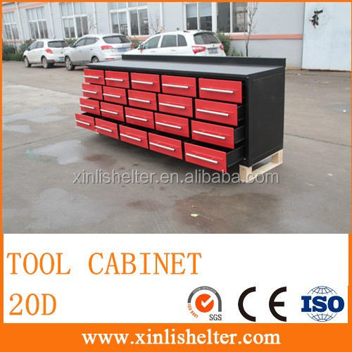 10ft Mobile Tool Cabinets With 20 Darwers View Garden