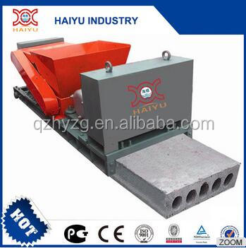 precast concrete hollow core wall panel making machine factory
