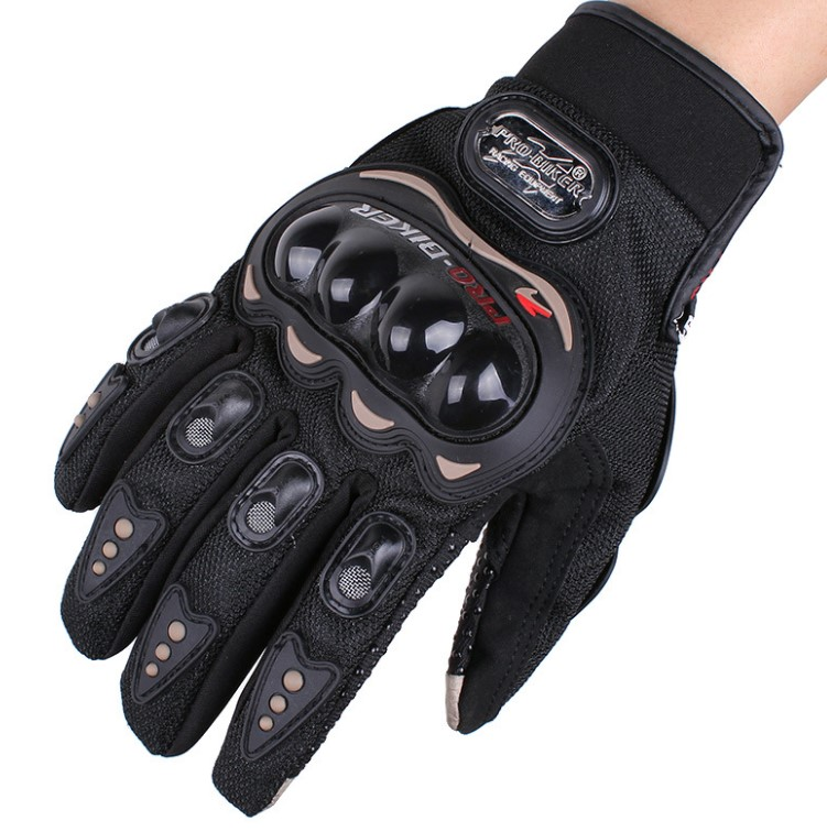Motorcycle probiker leather racing gloves touch screen Motocross motorcycle pro biker 3d sport