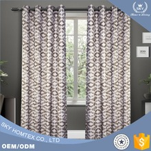 high quality jacquard curtain for the living room