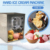 Commercial high quality china counter top hard ice cream machine