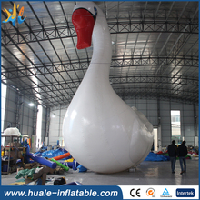 Giant customized inflatable swan for children and adults