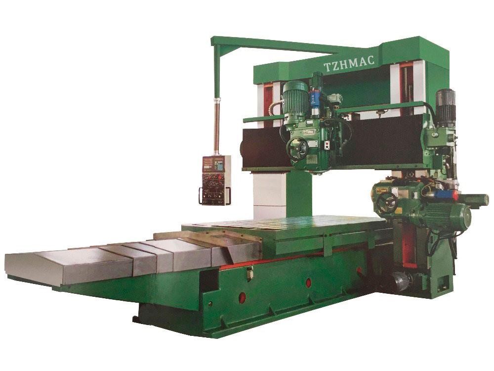 high precision gantry type horizontal heavy cnc planer mill borer machine  price xh-x4020