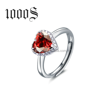 Wholesale Hot Sale Sweet Heart 925 Silver Ring