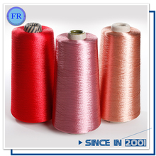 100% viscose bailu dyed rayon viscose filament yarn for embroidery