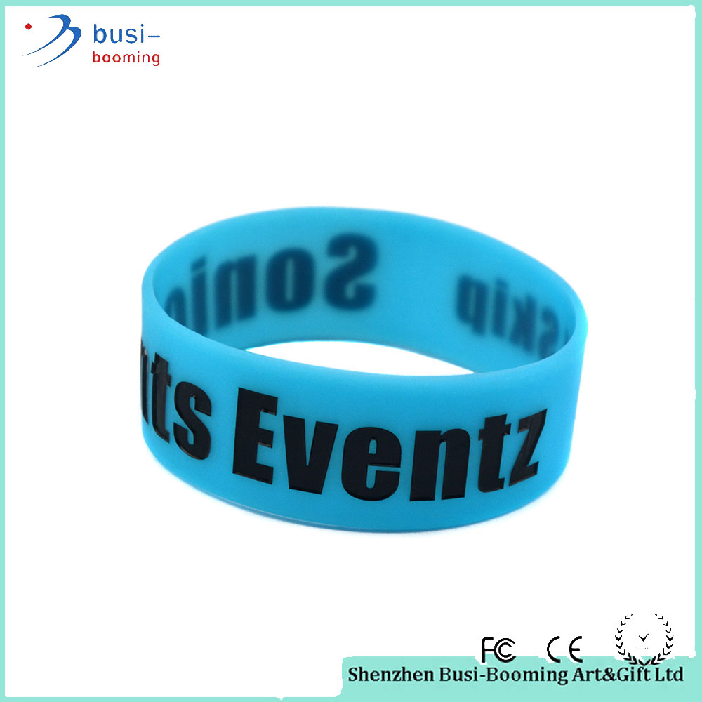 China Hot Sale Fashion Silicone Bracelet Monster Energy For Party Supply