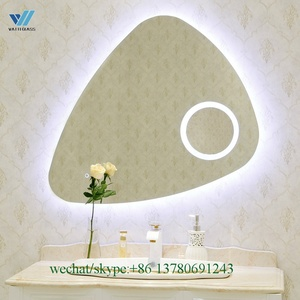 LED backlit bathroom illuminated smart TV mirror for sale