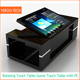 Waterproof rotating 43inch lcd touch screen table video game kiosk Windows interactive kiosk