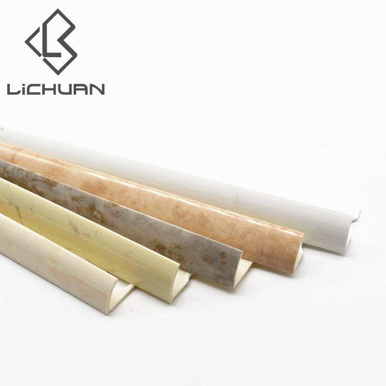 Trim Pelindung PVC Corner Guard Plastik PVC Edge Trim untuk Ubin