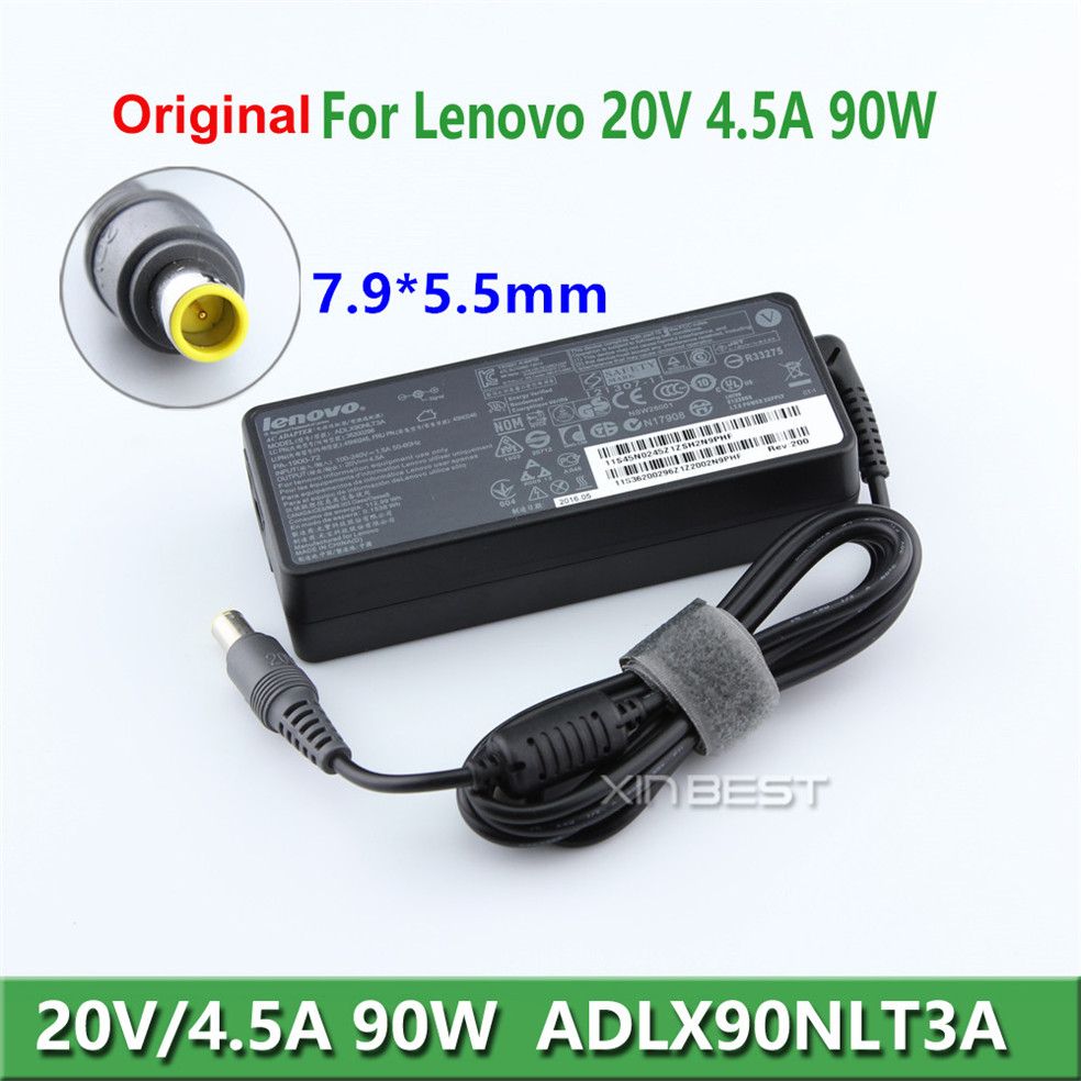 Replacement Ac Adapter 90W 20V 4.5A Lenovo ThinkPad X220i X300 X301 Tablet With 7.9*5.5mm Connector