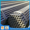 SS400 MS black welded pipe erw steel hollow tubing for structure