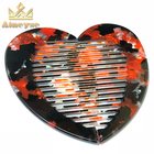 Heart Design Comb Small Lice Comb Remove Carry on Cheap Hair Comb