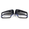 Blue W212 Carbon Fiber LED Side mirror cover For Mercedes E-Class W212 12-16