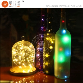 Silver Wire Fairy Lights Diy Craft Bottle Jar Decoration Led Starry String