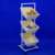 Retail Shop promotion  bulk merchandise display metal frame rack 3 Tiers Wire Basket Stand fixture