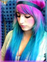Real Plus Hair Dye For Men/purple Hair Dye/glitter Hair Dye Color ...