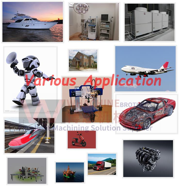 Customized High Quality Cheap Cnc Aluminum Parts Made In China ...