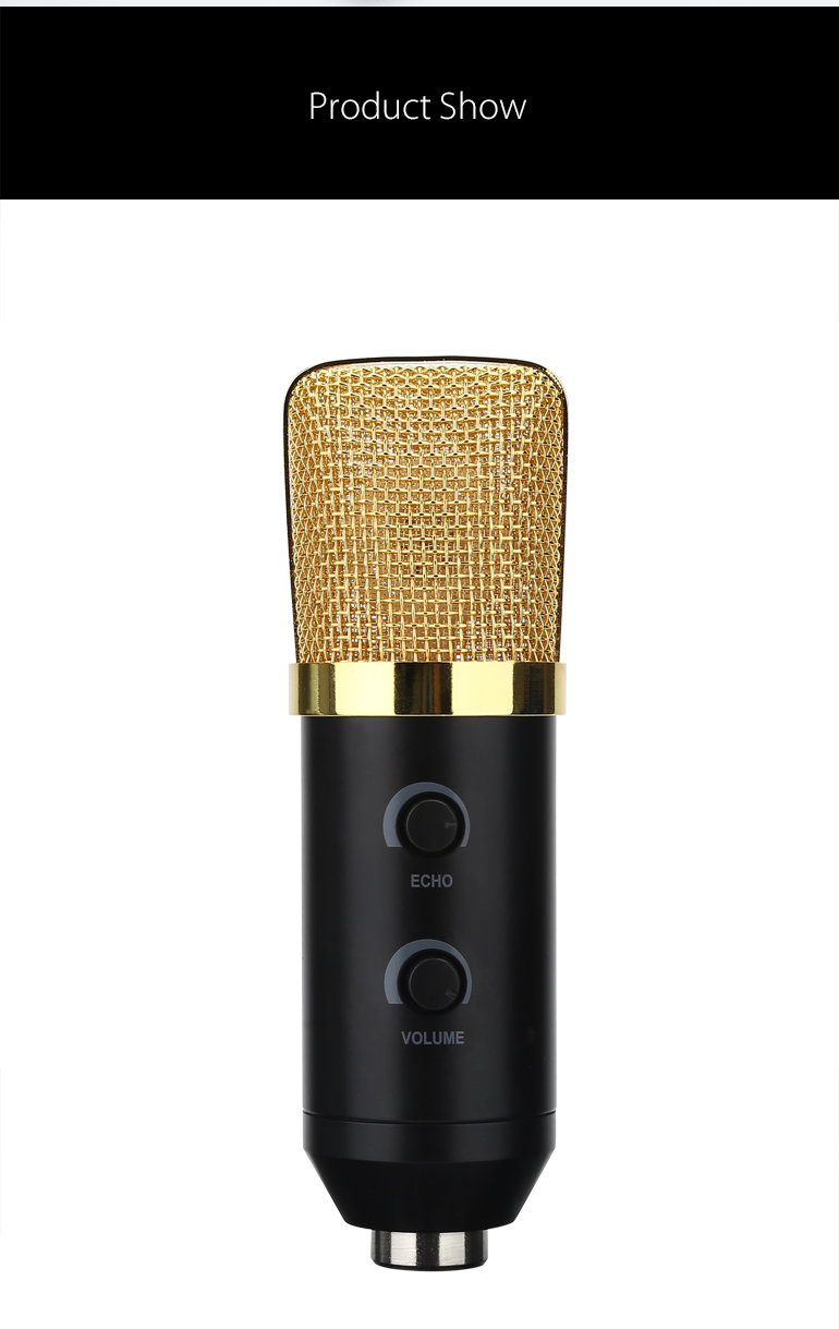 Hot sale BM700USB3.5jack reverberation condenser microphone suit New Products High Quality Custom Hand-Held Condenser Microphone