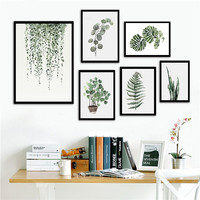 Wholesale The Nordic plants Canvas prints painting/Art wall painting