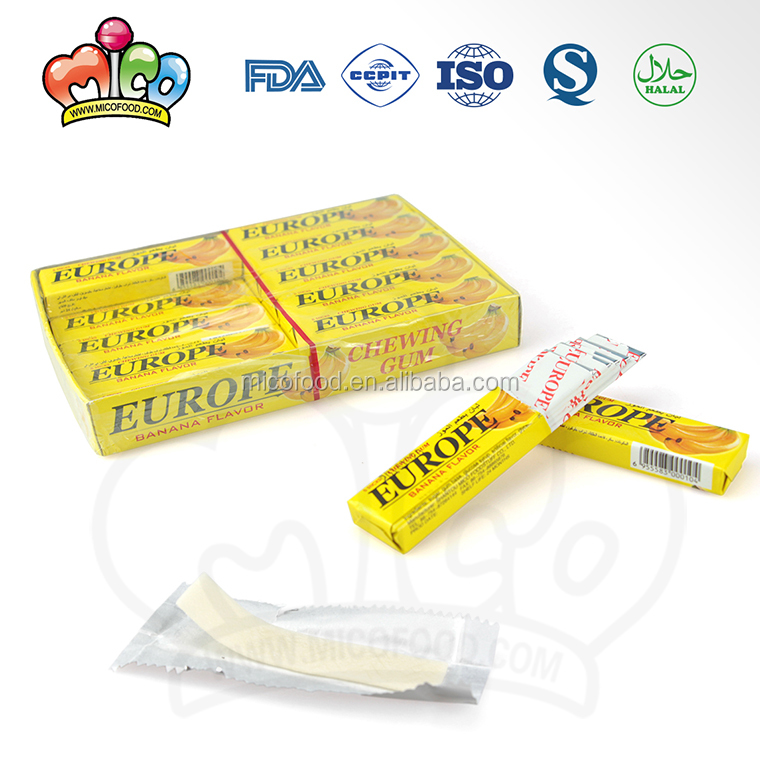 private label halal cheap china boxed chewing gum