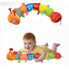 Recommend Cloth multifunctional educational children font b toys b font Baby rattles of music hand puppets
