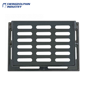 industry iron sewer cover iron price chamber cover ductile heavy duty  manhole cover cast iron gully grating price EN124 C250