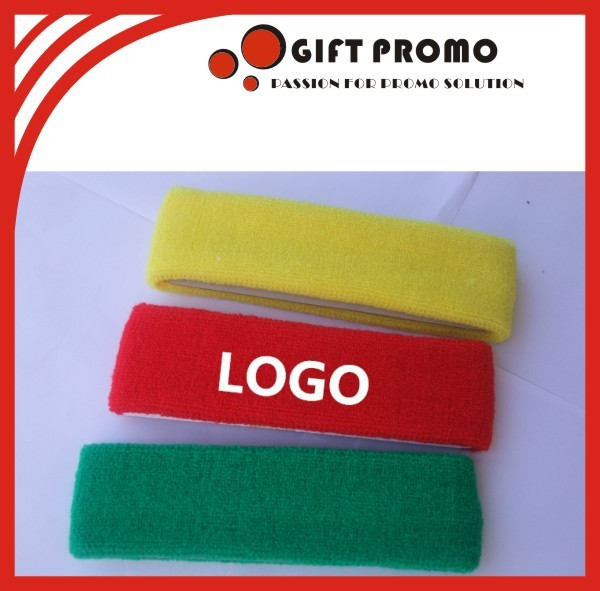 Custom Logo Head Sweatbands For Kids