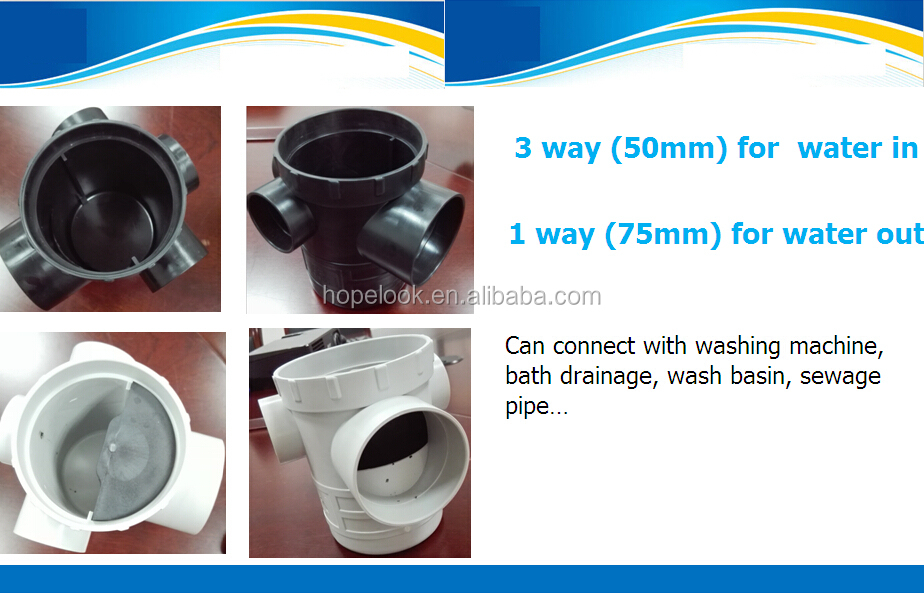 Floor Trap Size With 50mm 75mm 90mm 110mm 125mm Buy