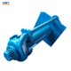 Belt driven vertical slurry pumps for heavy industry