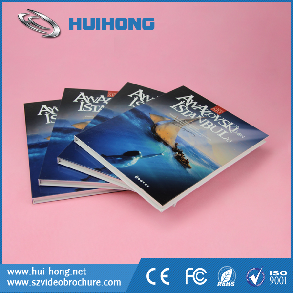 Supermarket Small Advertising Player USB Digital LCD Video Greeting Cards for Promotion