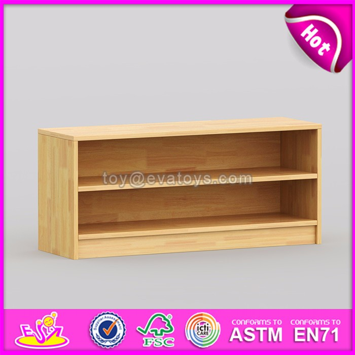High quality multi Level storage shelf wooden kids bedroom furniture W08C176