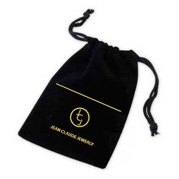 Light Green Fabric Embroider Travel Jewelry Bag Pouch Plain Velvet Whole Drawstring Satin Dust