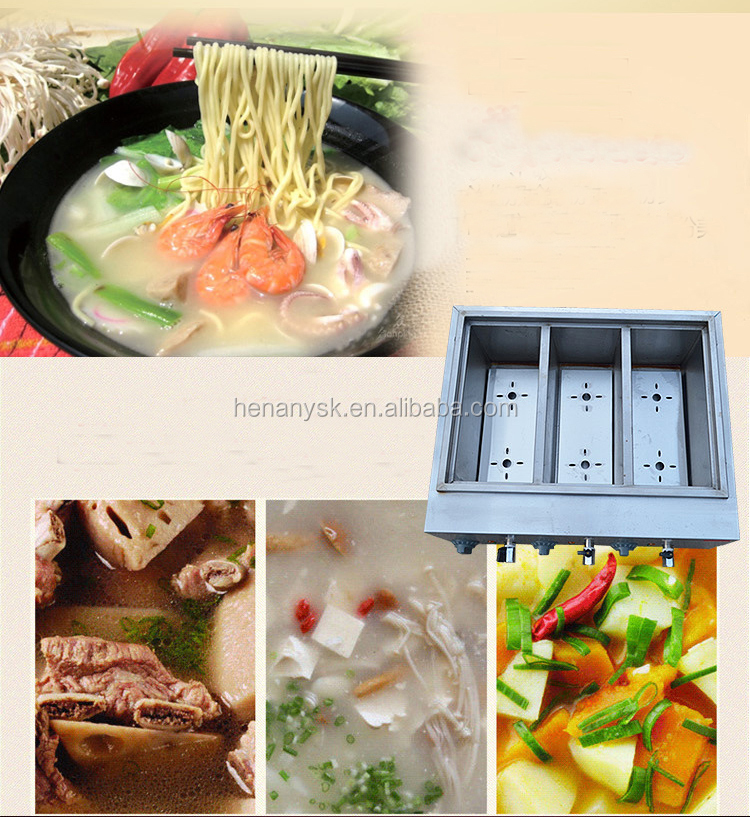IS-FY-6M-B Stainless steel Precise Temperature Control Commercial Electric Pasta Cooker For Sale