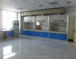 Steel fume hood cabinet for school laboratory, laminar air flow lab fume hood cabinet