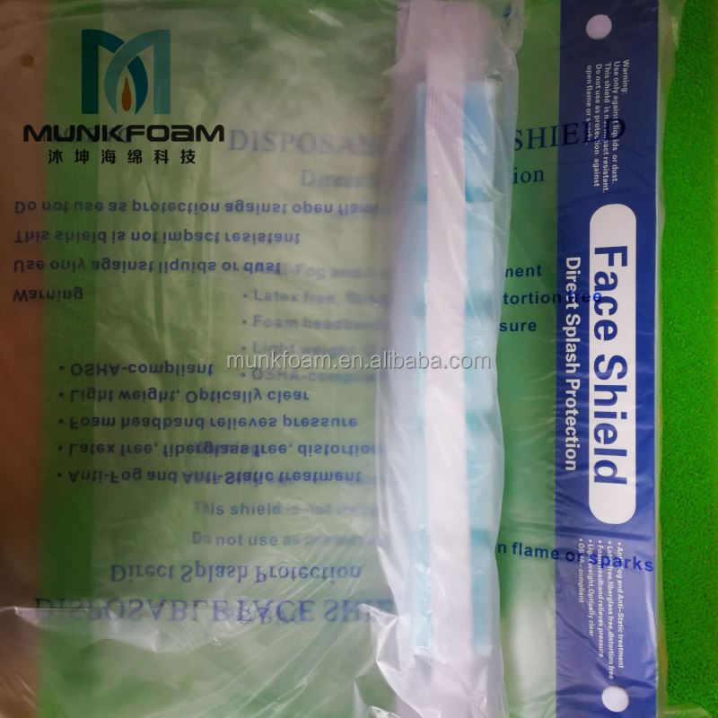 Disposable medical 3m 9322 respirator mask face shield free sample