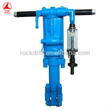 Y26 pneumatic rock drill,portable rock drilling machine,manual gold mining