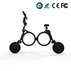 Light weight fashion folding pocket electric 50cc scooter