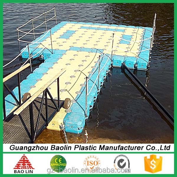 plastic floating dock plastic pontoon cubes for marine