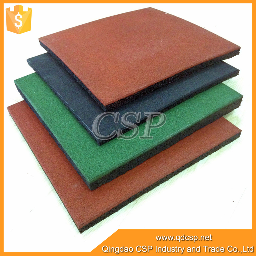 Green, eco-supreme outdoor rubber mat