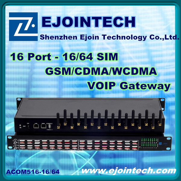 2014 low price! Ejoin 16 ports /32 port voip gsm sim box voip gateway ivr system