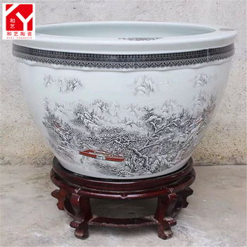Chinese Porcelain Fish Bowl Unique Bowls Drink Hanging Product On Alibaba