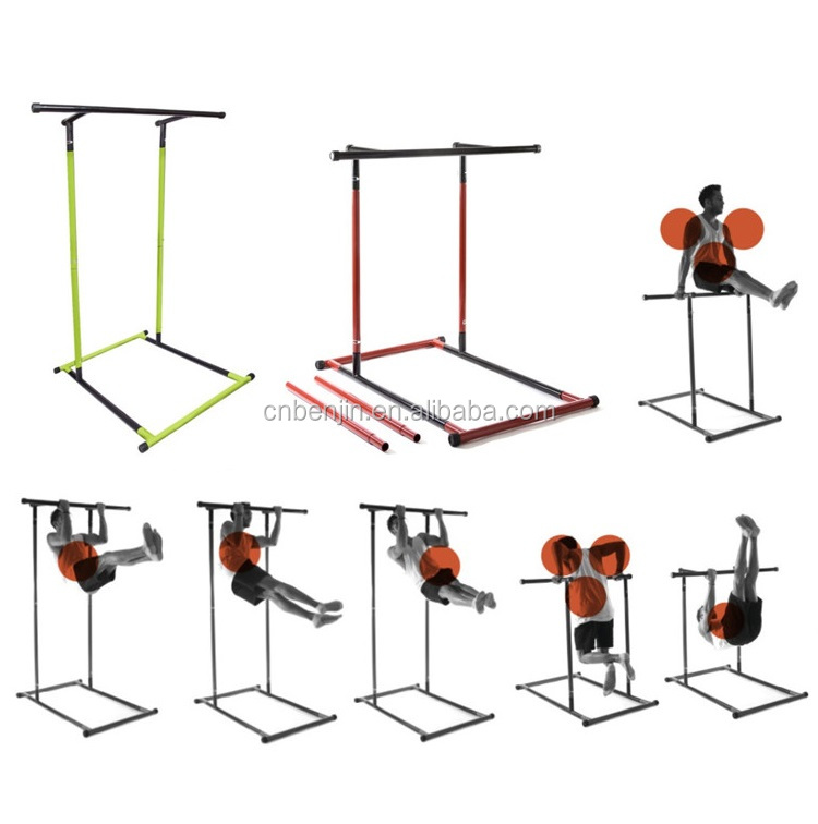 OEM Customized Pull Up Dip Station Rack Upper Body Workout Press Up Bars