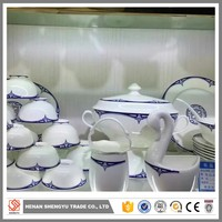 16pcs stoneware hand painted dinnerware set